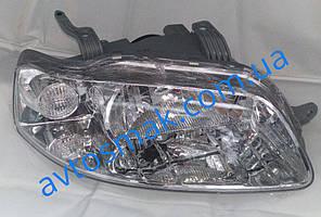 Фара передняя для Chevrolet Aveo '04-05 Т200 правая (DEPO) механическая/под электрокорректор