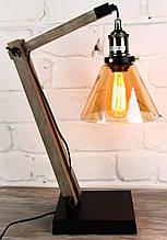 Настольная лампа лофт Модель 19 (ЛАМПА ЭДИСОНА В КОМПЛЕКТЕ!)