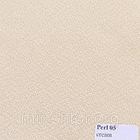 Готовые рулонные шторы 300*1500 Ткань Pearl 05 Кремовый