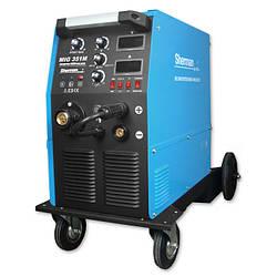 Зварювальний інверторний напівавтомат 380В., 350А/60%, IGBT, 4R, цифровий дісплей, Sherman profi