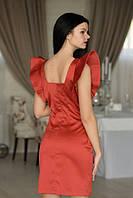 """Коктейльное платье """"Da Vinchi Marsala"""", фото 1"""