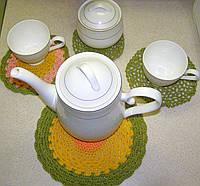 Вязанные салфетки, фото 1