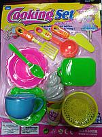 Детский игровой набор Cooking Set для Детской кухни Детская посудка