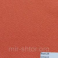 Готовые рулонные шторы 300*1500 Ткань Pearl 25 Терракот