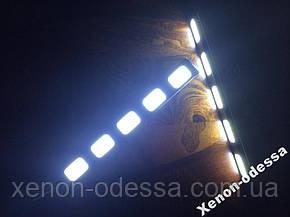 LED COB DRL 15 см (5 светящихся сегментов), фото 2