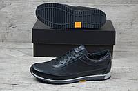 Мужские кожаные кроссовки кеды Ralph Lauren Polo, фото 1