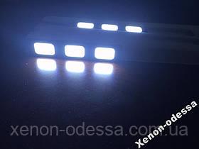 LED COB DRL 9 см (3 светящихся сегмента), фото 2