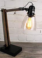 Настольная лампа  лофт Модель 20 (ЛАМПА ЭДИСОНА В КОМПЛЕКТЕ!), фото 1