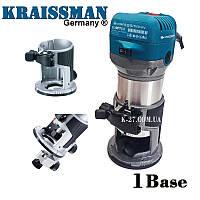 Фрезер-триммер Kraissmann 910 OFT 6-8 (1 база /кромочная)