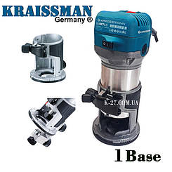 Фрезер-триммер «Kraissmann» 910 OFT 1 база (кромочная)