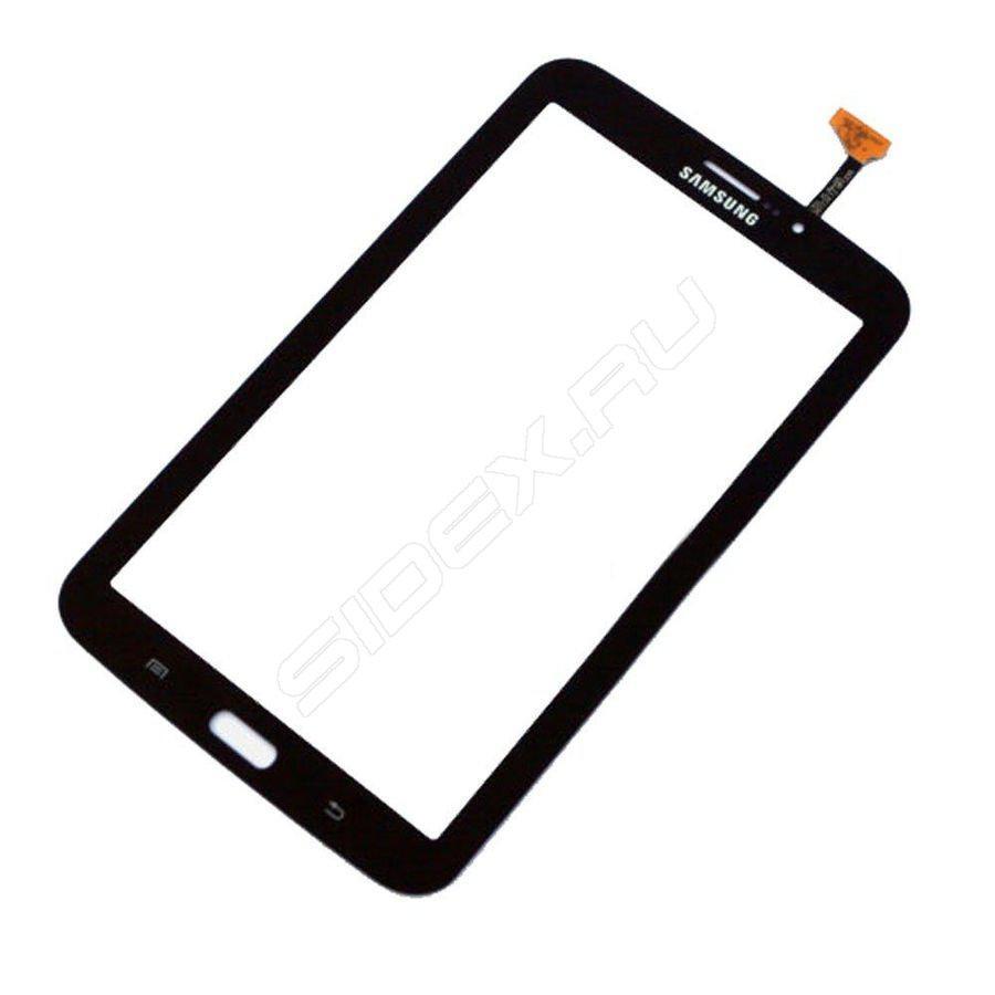 """Тачскрин для Samsung T211 Galaxy Tab 3 7.0""""/T215/T2110/P3210, версия 3G, черный, Metallic Black Оригинал"""