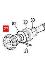 Шестерня коническая червячного вала MOBY (PMDICGMC.46102)