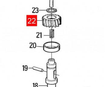 Шестерня редуктора MB (PMDCO5.4610)