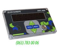 Счетчик расходомер LED SWIMER PPC-600 (PL) Пульсометр FM1 (Swi)