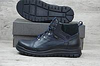 Мужские кожаные зимние ботинки, фото 1