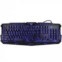 Ігрова мультимедійна клавіатура з підсвічуванням UKGL-M200