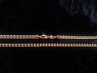"""Цепочка Хuping Позолота 18К """"Двойное плетение """" размер 50 см х 3 мм"""