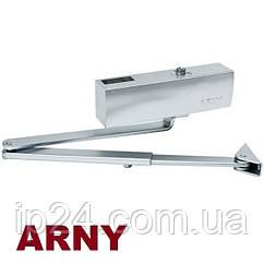 Дверной доводчик ARNY F6800-3 серебристый