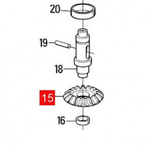 Шестерня коническая редуктора MOBY, PLUTO (PMD0576R03.4610)