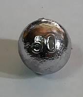 Груз Шар скользящий 50г (упак 25шт), фото 1