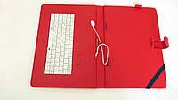 """Чехол клавиатура для планшета 10"""" EN-Rus MicroUSB Красная Отличное качество Купить на сайте Код: КДН3900, фото 1"""