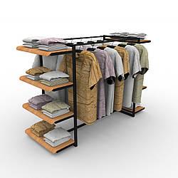 Полки 🛒для магазина одежды, торговые
