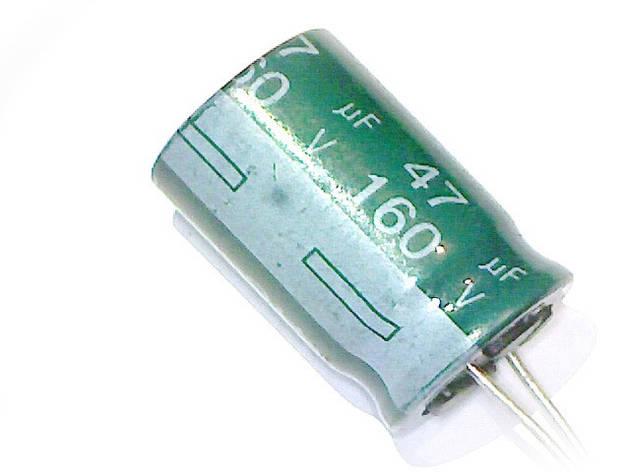 Конденсатор 47uF 160V  47мкф 160в 10*20, фото 2