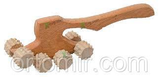 Массажер деревянный для тела ТОПОРИК