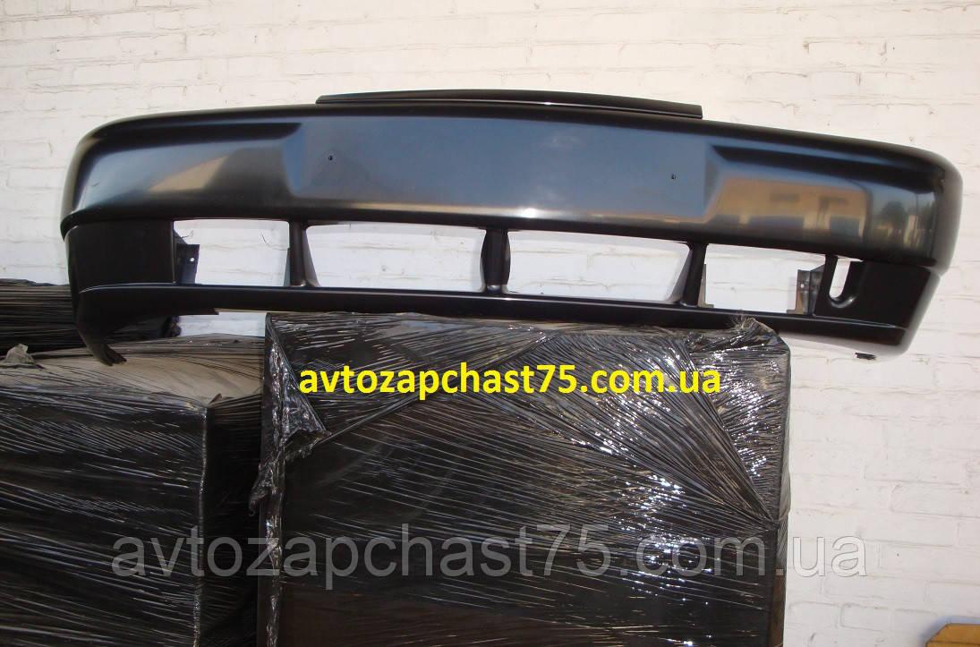 Бампер передний ваз 2110, 2111, 2112 (с боковыми кронштейнами ) производитель Пластик, Россия