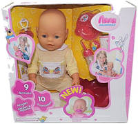 Кукла-пупс интерактивный маленькая ЛЯЛЯаналог Baby Born, фото 1