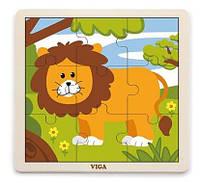 Пазл Лев Viga toys (51442)