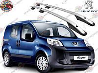 Рейлинги на крышу Peugeot Bipper / Пежо Биппер 2008-
