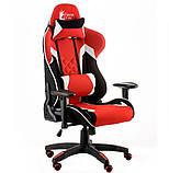 Компьютерное игровое кресло Special4You ExtremeRace 3 black/red, фото 2