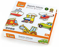 Набор магнитных фигурок Транспорт Viga toys 20 шт. (58924)