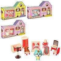 Домик игровой  HY-067BCDE  Мебель для кукол
