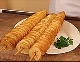 Слайсер для нарезания картошки чипсами GoodFood VC01, фото 4
