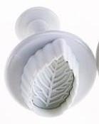 Плунжер кондитерский Листик розы, 2,5*4,5 см