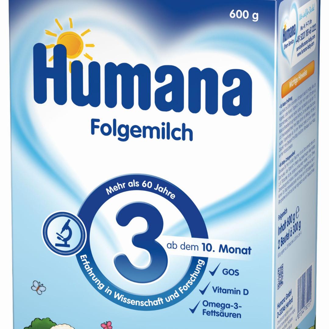 Детская Смесь 600 гр Humana 3