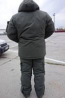 Зимний  костюм  Даймонд Коттон Олива для охоты и рыбалки до - 40.