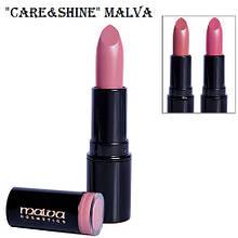 Помада для губ Malva Care&Shine M-483