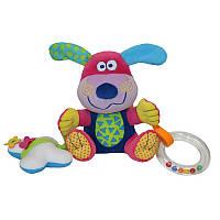 Развивающая игрушка погремушка Dog Lorelli