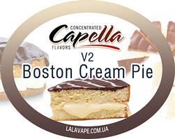 Ароматизатор Capella Boston Cream Pie v2 (Бостонский пирог)