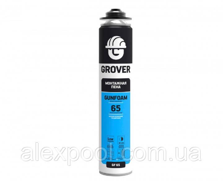Монтажная пена GROVER GF65 стандартная 0, 883 л