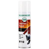 Аэрозоль-краска для гладкой кожи (черный) - Salamander Leather Fresh (Оригинал)