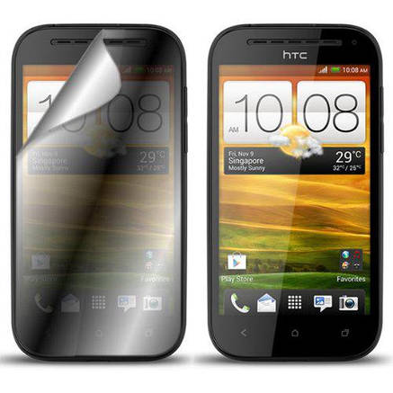 Прозрачная защитная пленка для экранов HTC Оne 2 шт, фото 2