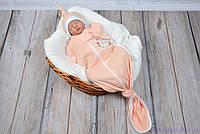 """Пеленка на молнии для новорожденных """"Каспер"""" безразмерная с шапочкой, You are loved, фото 1"""