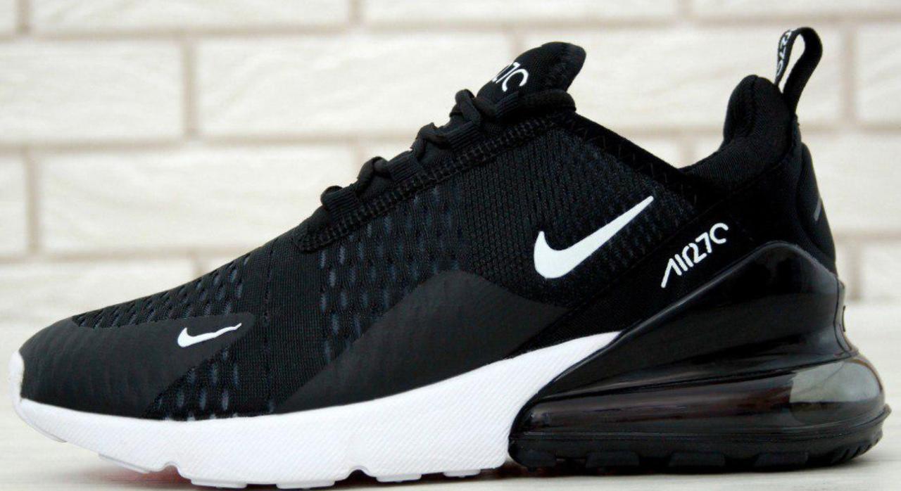10dfa2e1 Мужские кроссовки Nike Air Max 270 Black - интернет-магазин обуви «Walking»  в