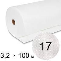 Агроволокно белое 17 uv - 3,2 × 100 м (Гекса)