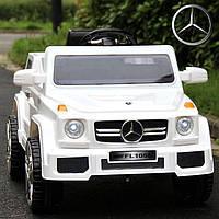Детский электромобиль Mercedes 2788 белый (красный, черный), MP3, USB.