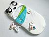 Конверт кокон на выписку Пандочка трехсезонный летний-весенний, фото 2